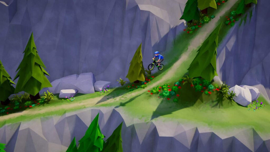 Lonely Mountains Downhill Switch- Wheelie good