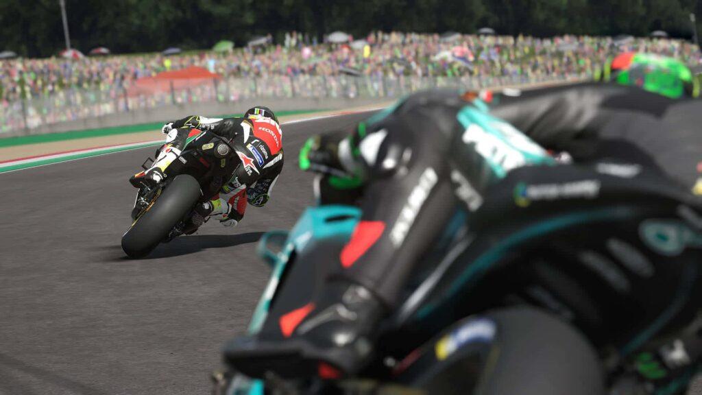 MotoGP 20 - Behind the wheel