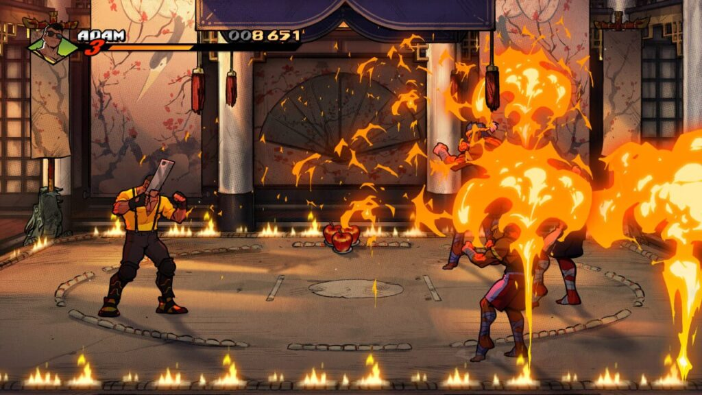 Streets of Rage 4 - Adam