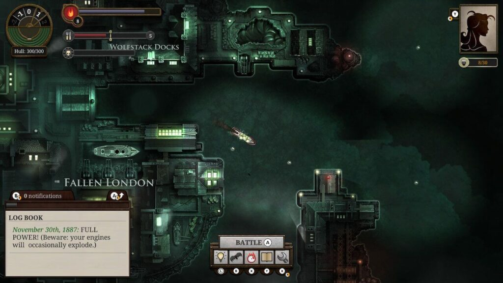 Sunless Sea Zubmariner Edition - The fallen