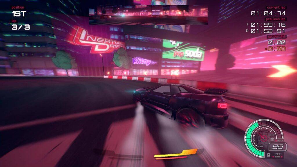 Inertial Drift - Neon