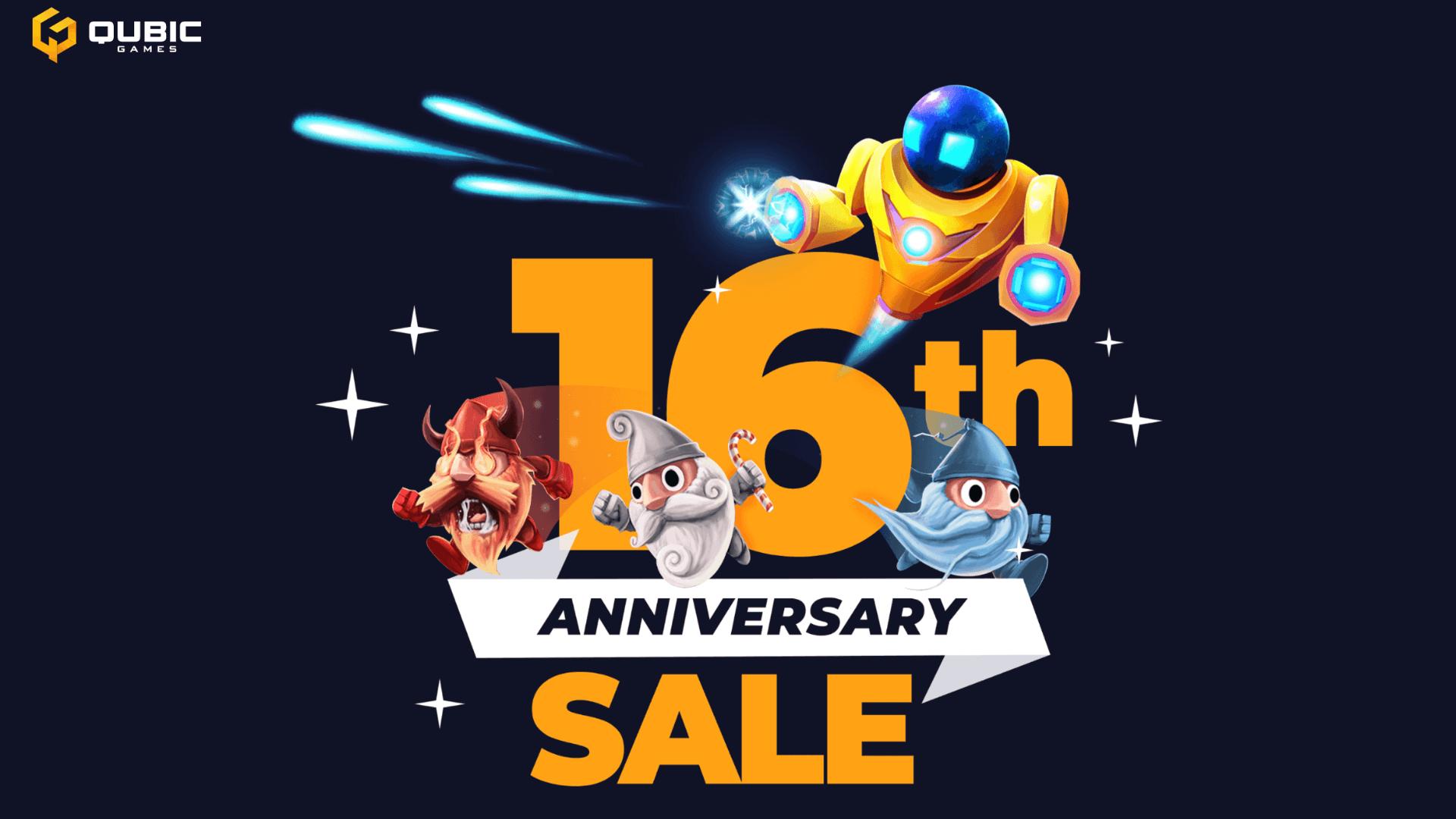 Qubic Games' Anniversary Sale
