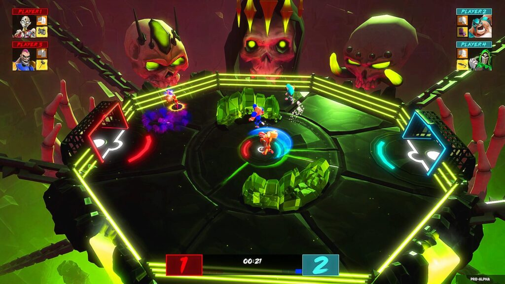 HyperBrawl Tournament - Skulls