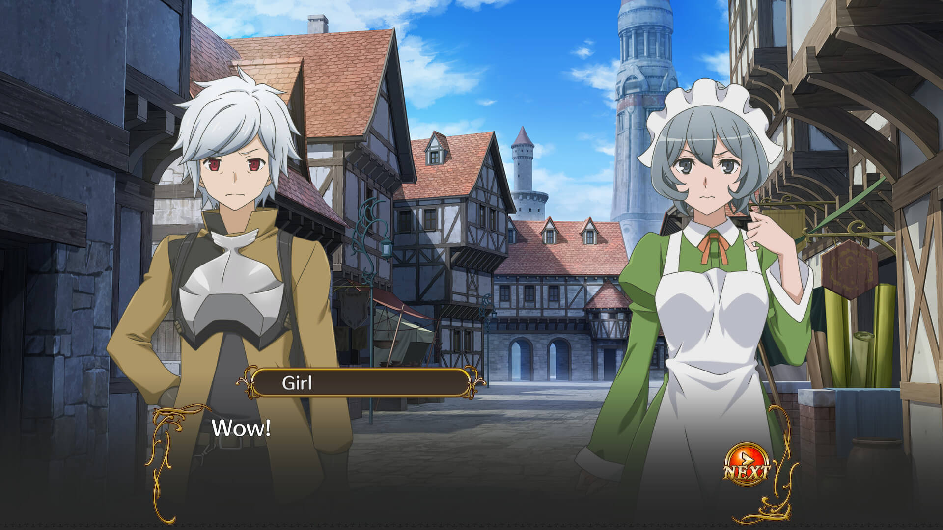 Is It Wrong To Try To Pick Up Girls In A Dungeon - Infinite Combate