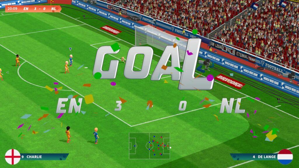 Super Soccer Blast - Goal