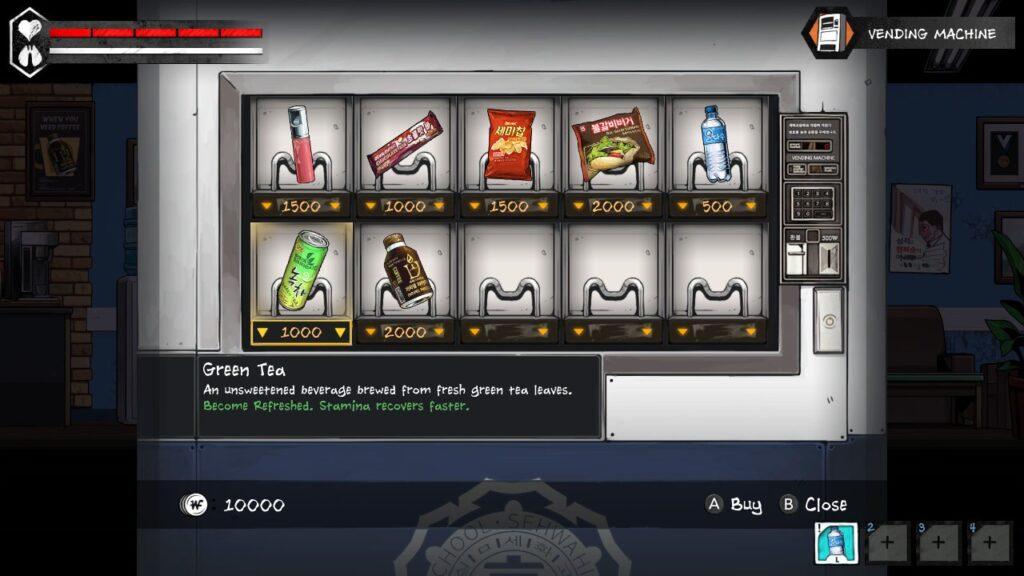 The Coma 2 Vicious Sisters - Vending machine