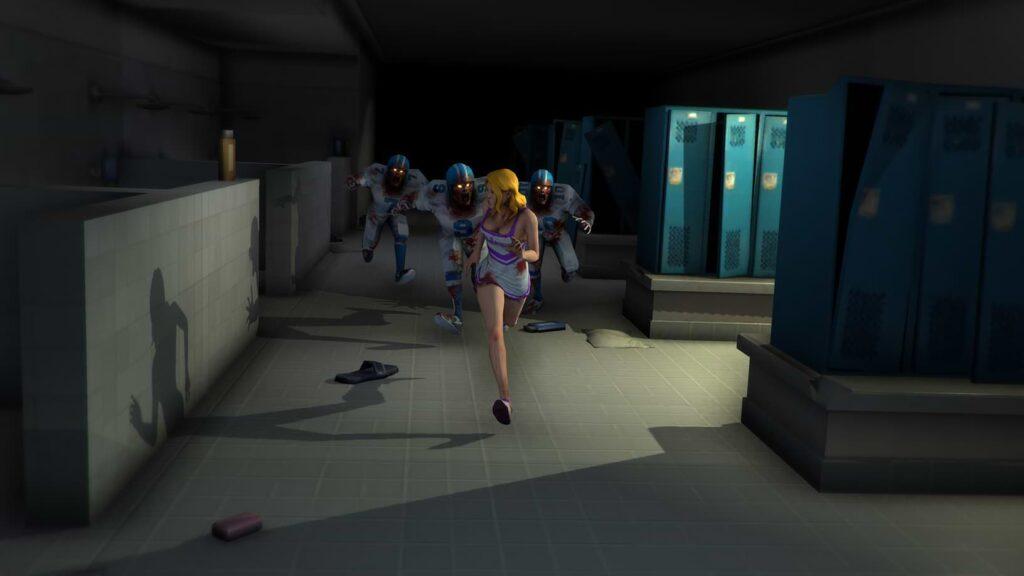 Corridor Z - Cheerleader