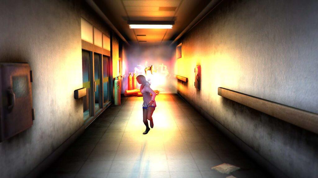 Corridor Z - Fire!