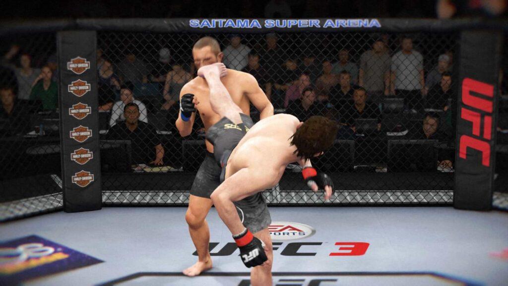 EA Sports UFC 3 - Kick