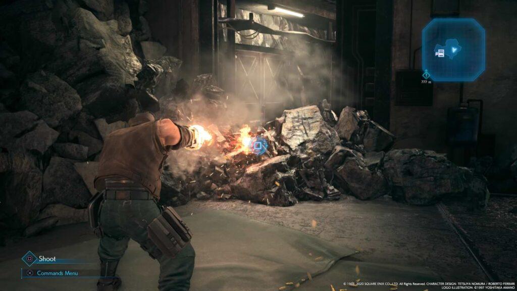 Final Fantasy VII Remake - Barrel