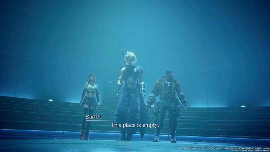 Final Fantasy VII Remake - Empty
