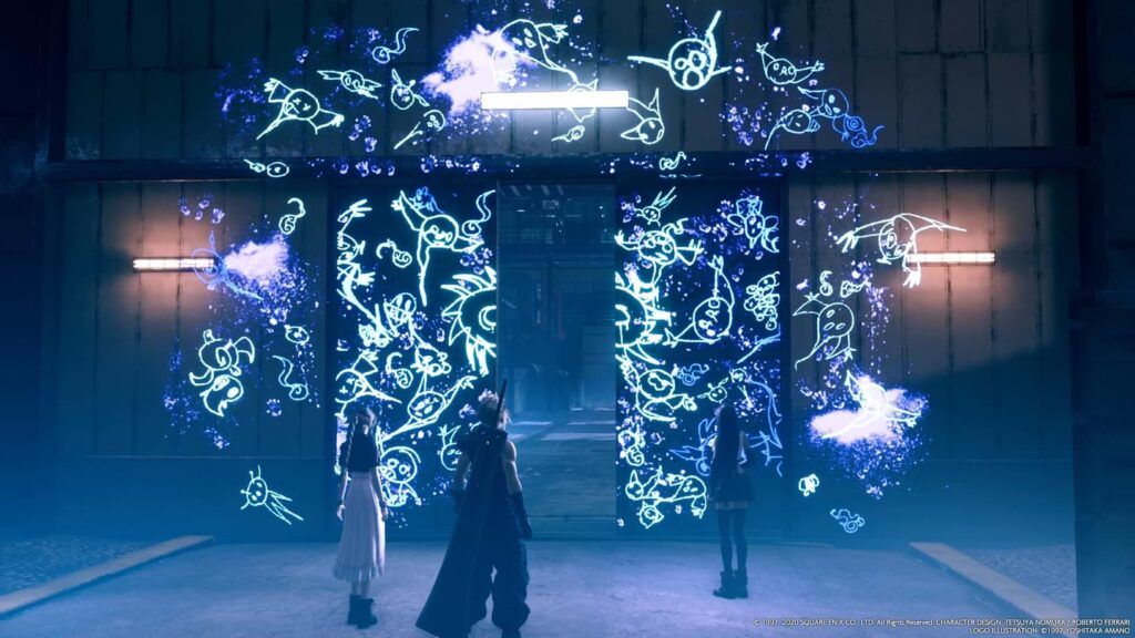 Final Fantasy VII Remake - Ghostly
