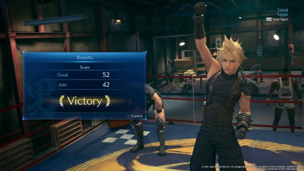 Final Fantasy VII Remake - Squats