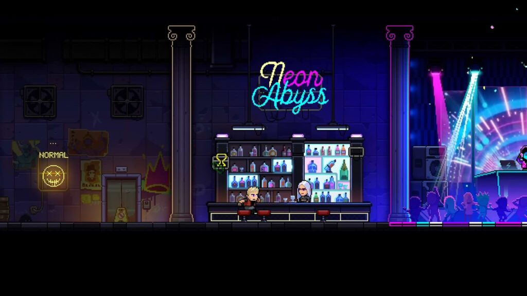 Neon Abyss - Bar