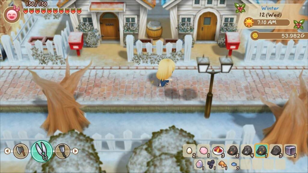 Story of Seasons Friends of Mineral Town - Four Seasons