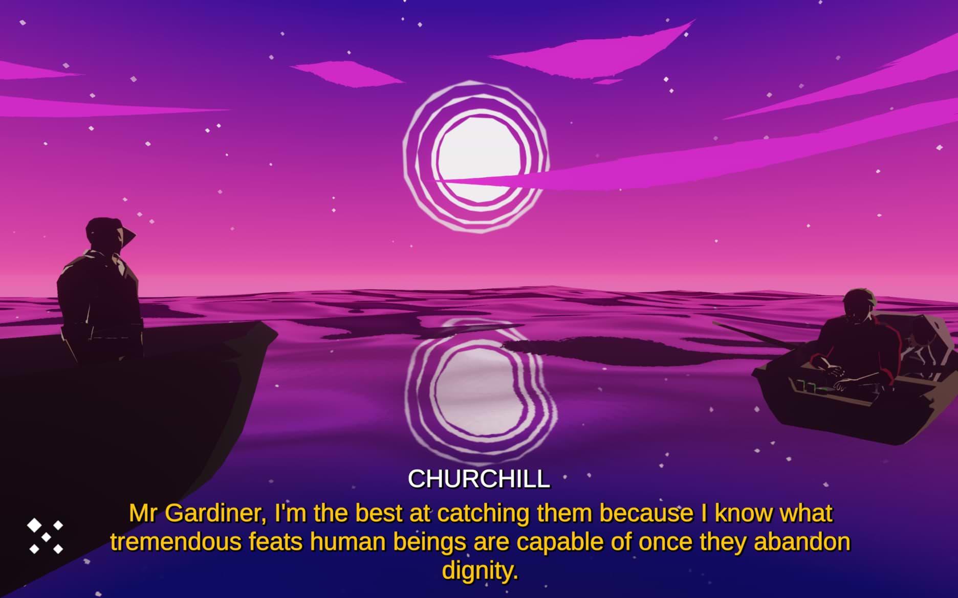 The Night Fisherman - Churchill