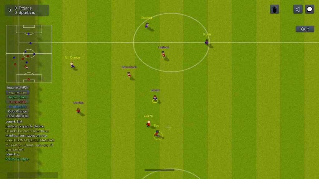 World of Soccer - Trojans