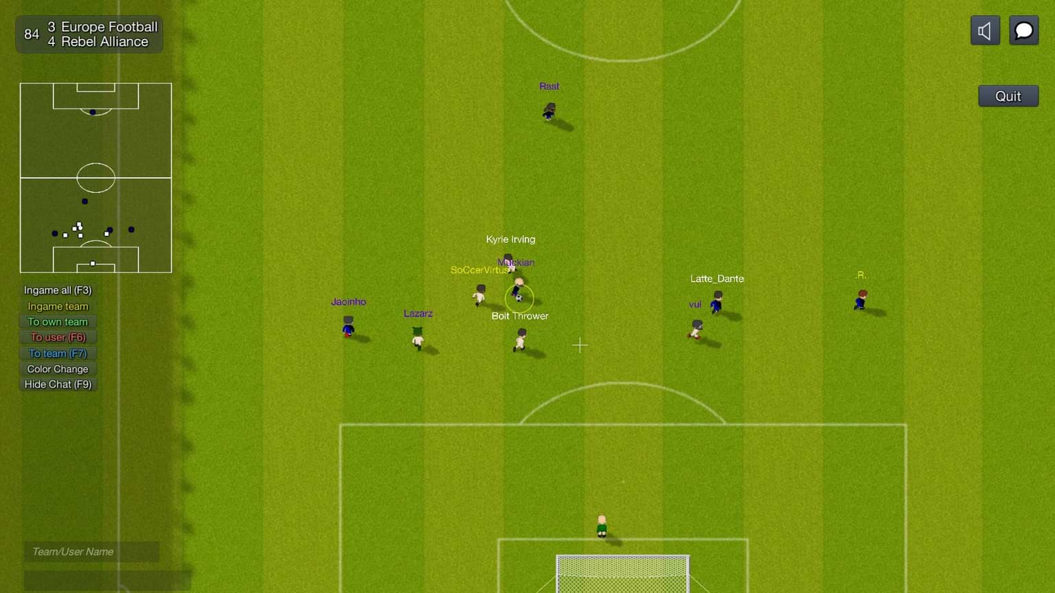 World of Soccer Online is free-to-play