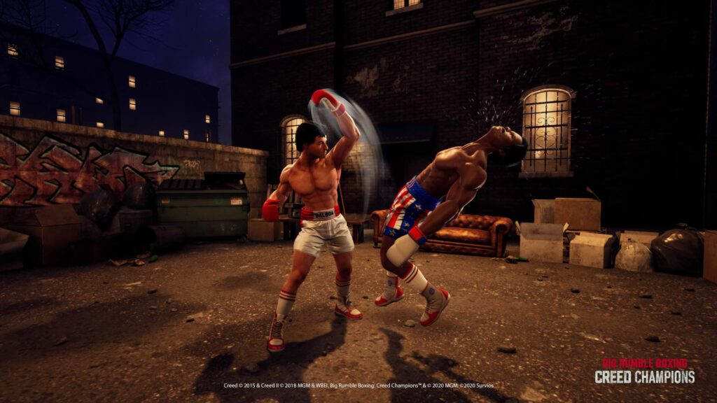 Big Rumble Boxing Creed Champions - Streetfighter