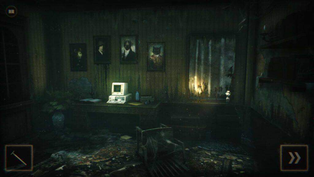 Dark Room - Computer