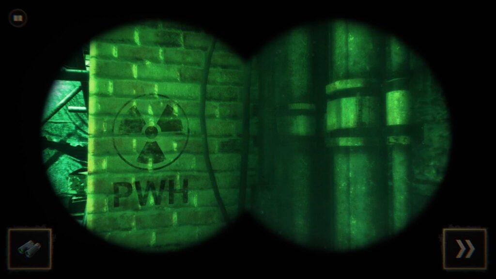 Dark Room - Night vision