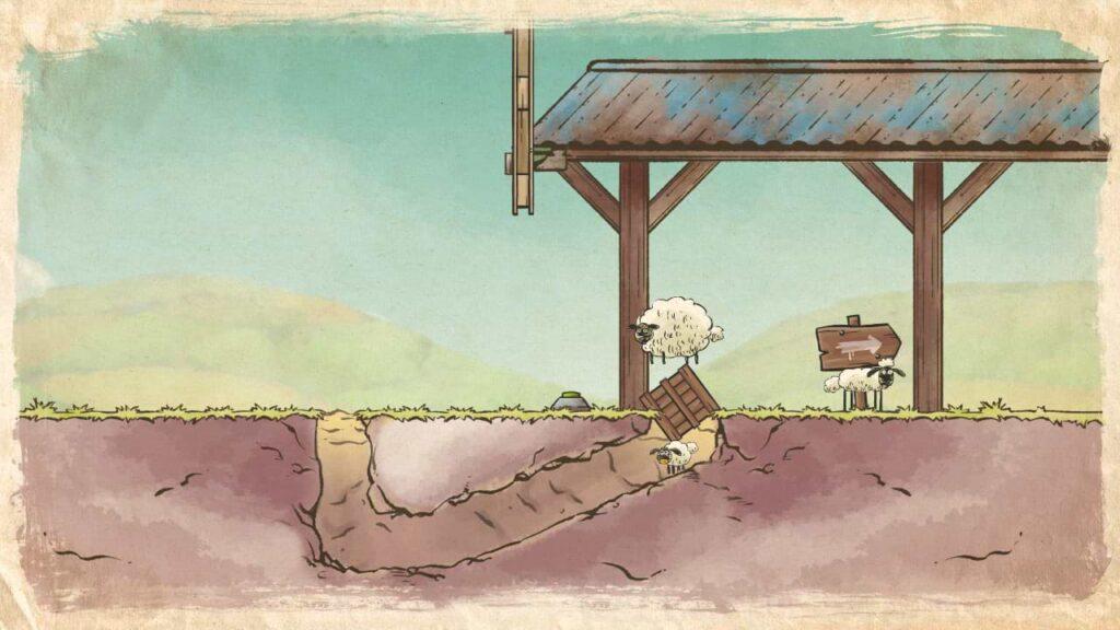 Home Sheep Home Farmageddon Party Edition - Blockage