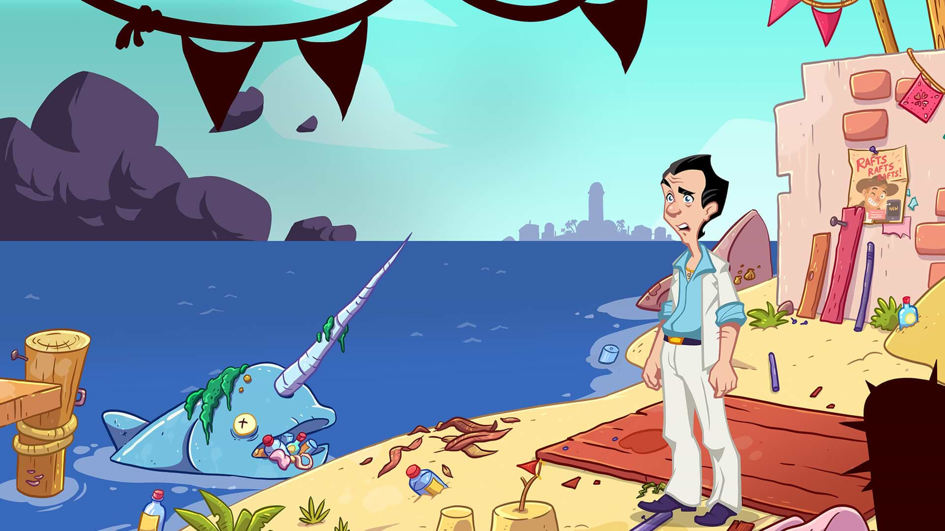 Leisure Suit Larry Wet Dreams Dry Twice