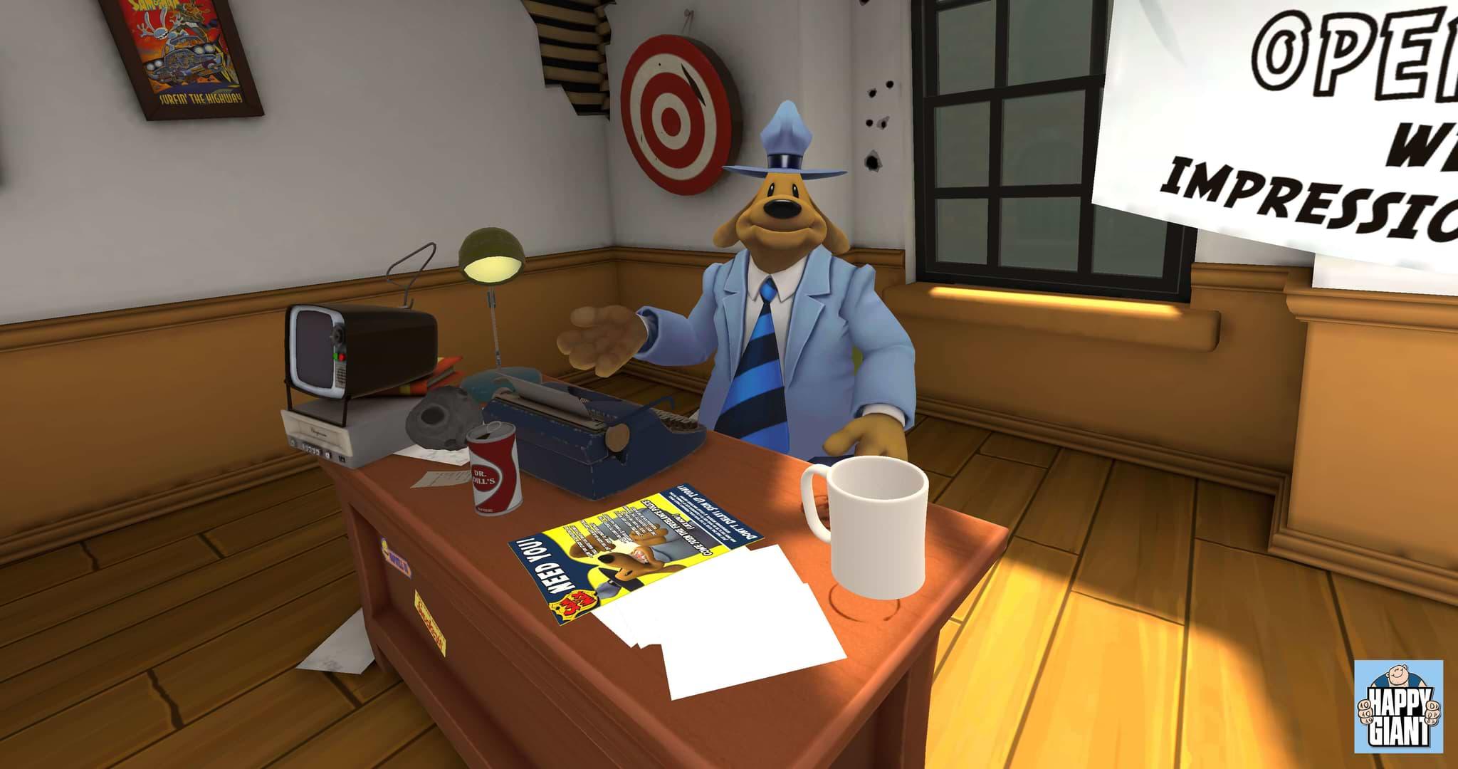 Sam & Max This Time It's Virtual!