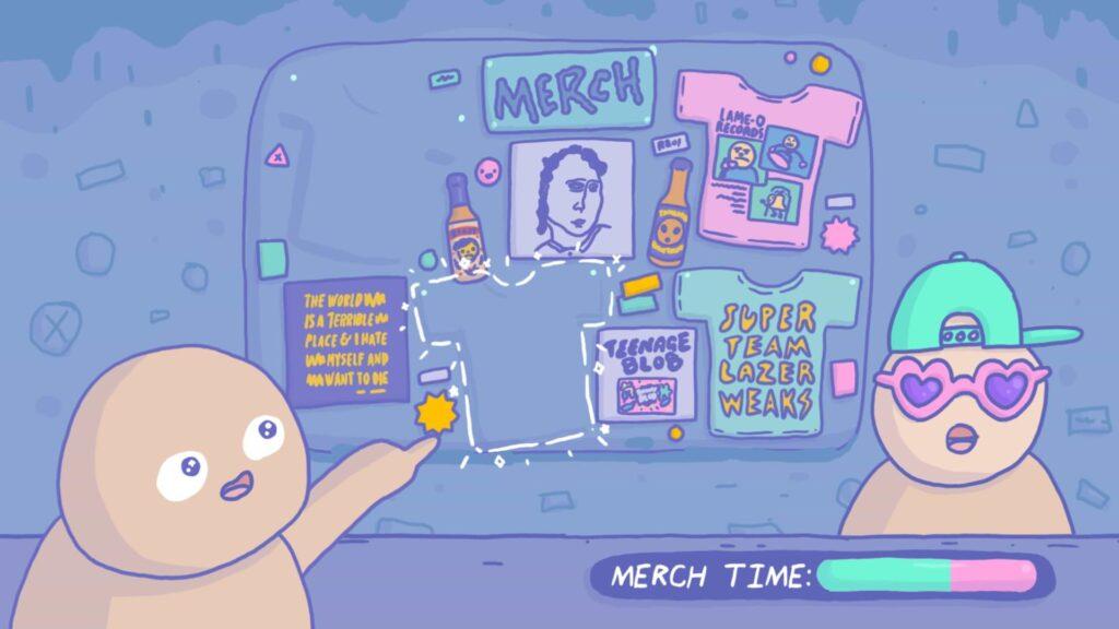Teenage Blob - Merch