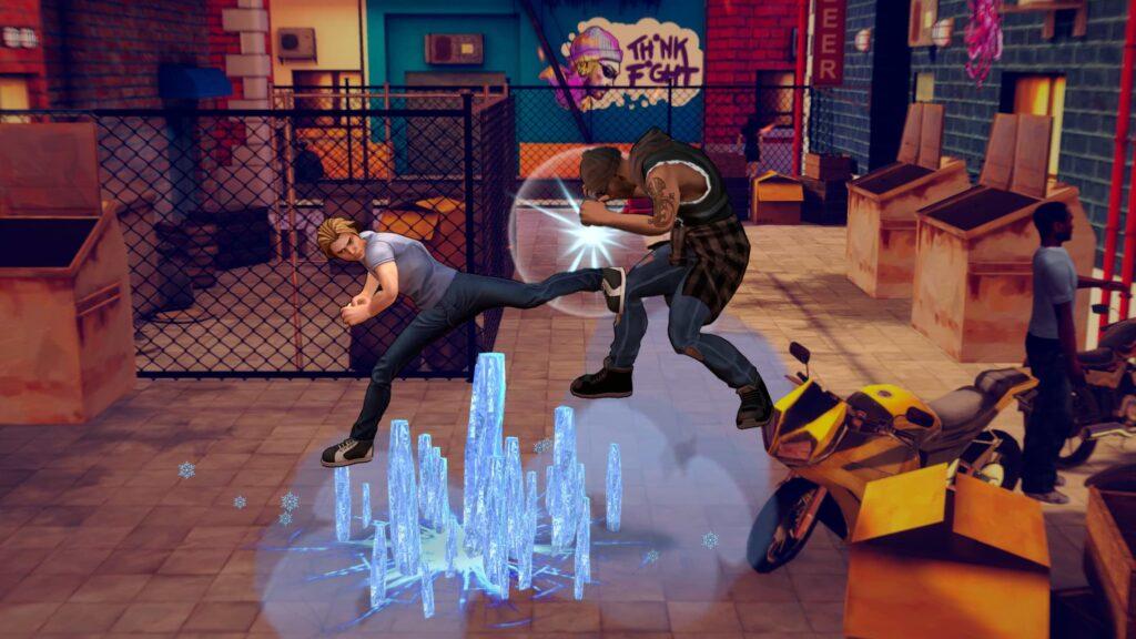 Cobra Kai The Karate Kid Saga - Shin kick