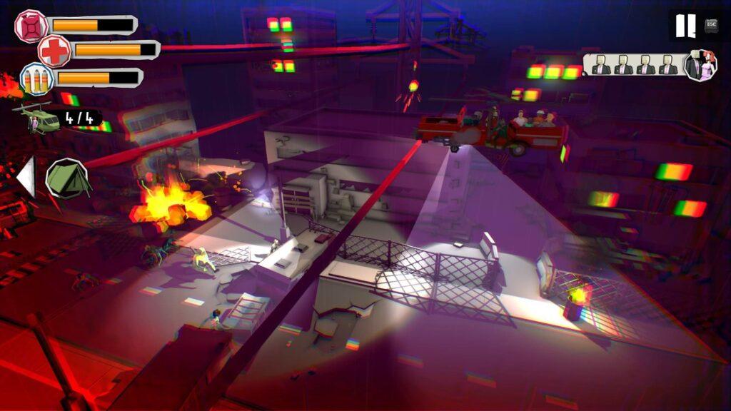 Dustoff Z - Night raid