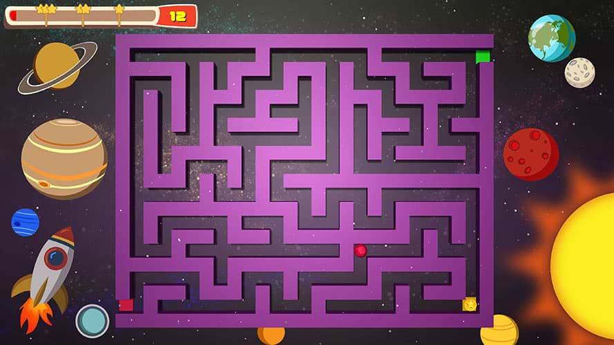 Educational Games For Kids - Maze