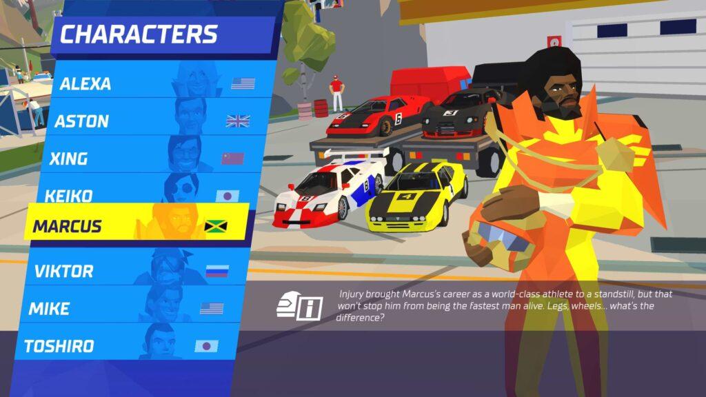 Hotshot Racing - Choose