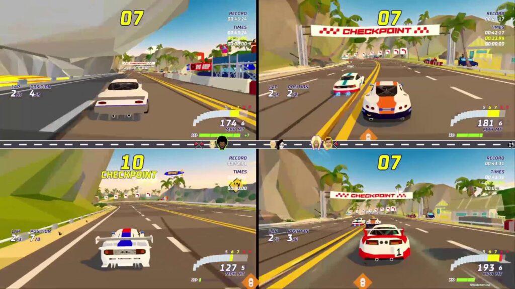 Hotshot Racing - Split