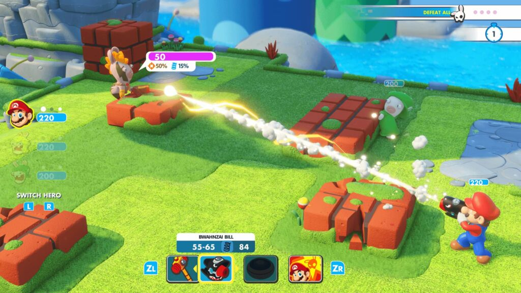 Mario + Rabbids: Kingdom Battle - Zap