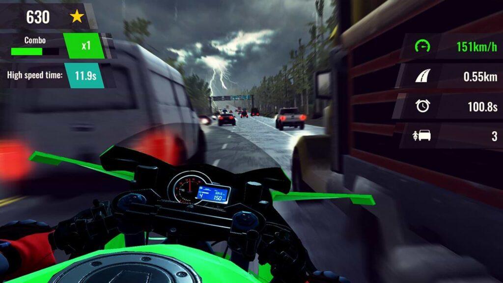 Moto Rush GT - Green Hornet