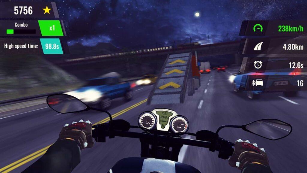 Moto Rush GT - Jump