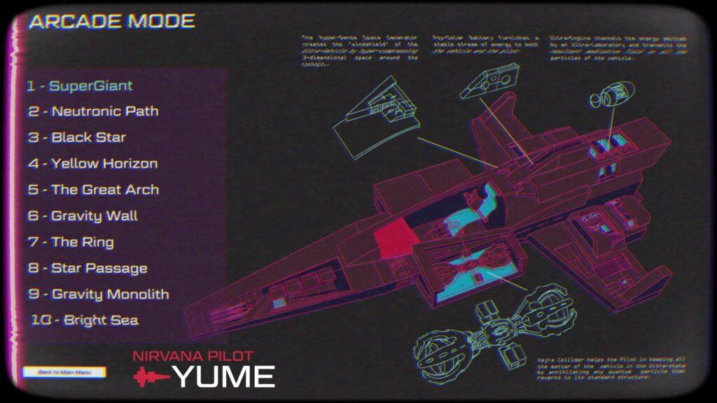 Nirvana Pilot Yume - Arcade