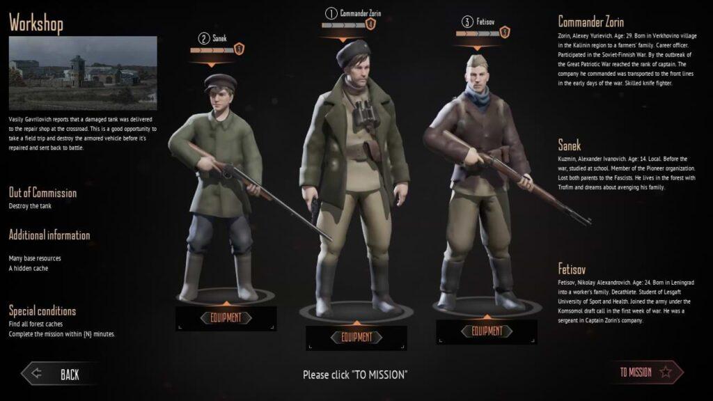 Partisans 1941 - Tank