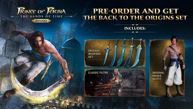 Prince of Persia- The Sands of Time Remake - Pre-order