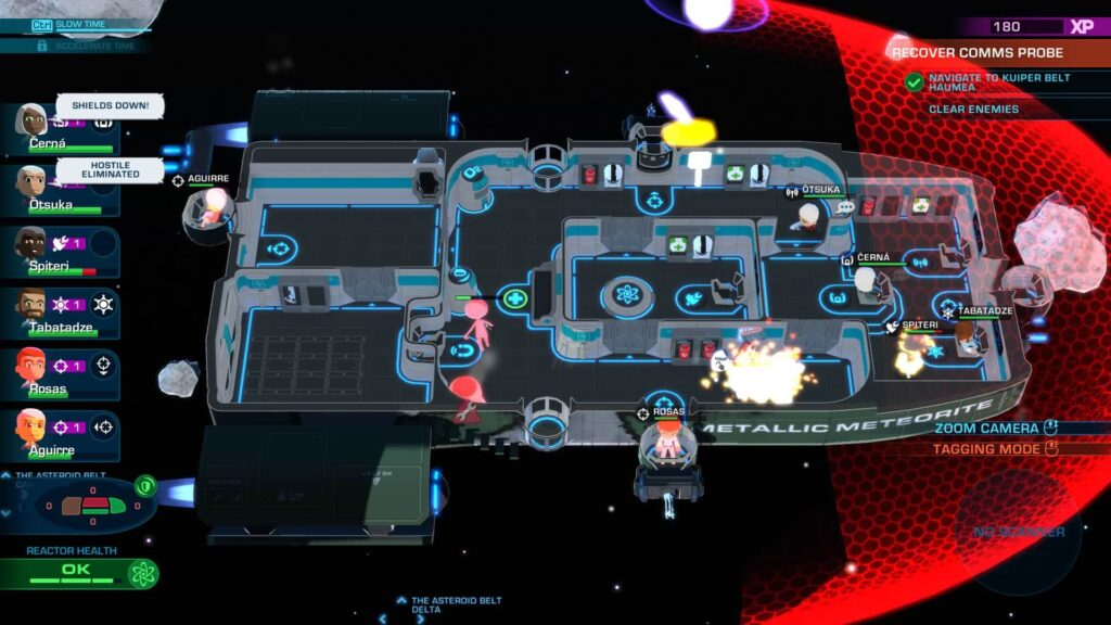 Space Crew - Floorplan