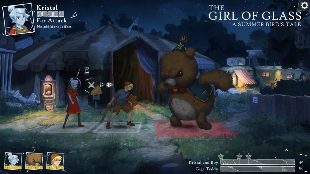 The Girl of Glass - Bear knuckle fight