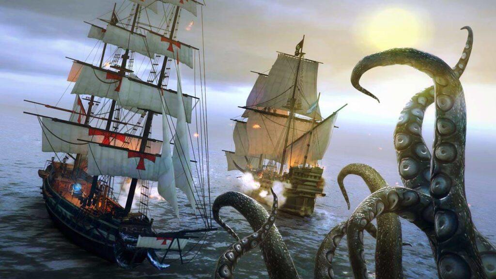 Under the Jolly Roger - Kraken
