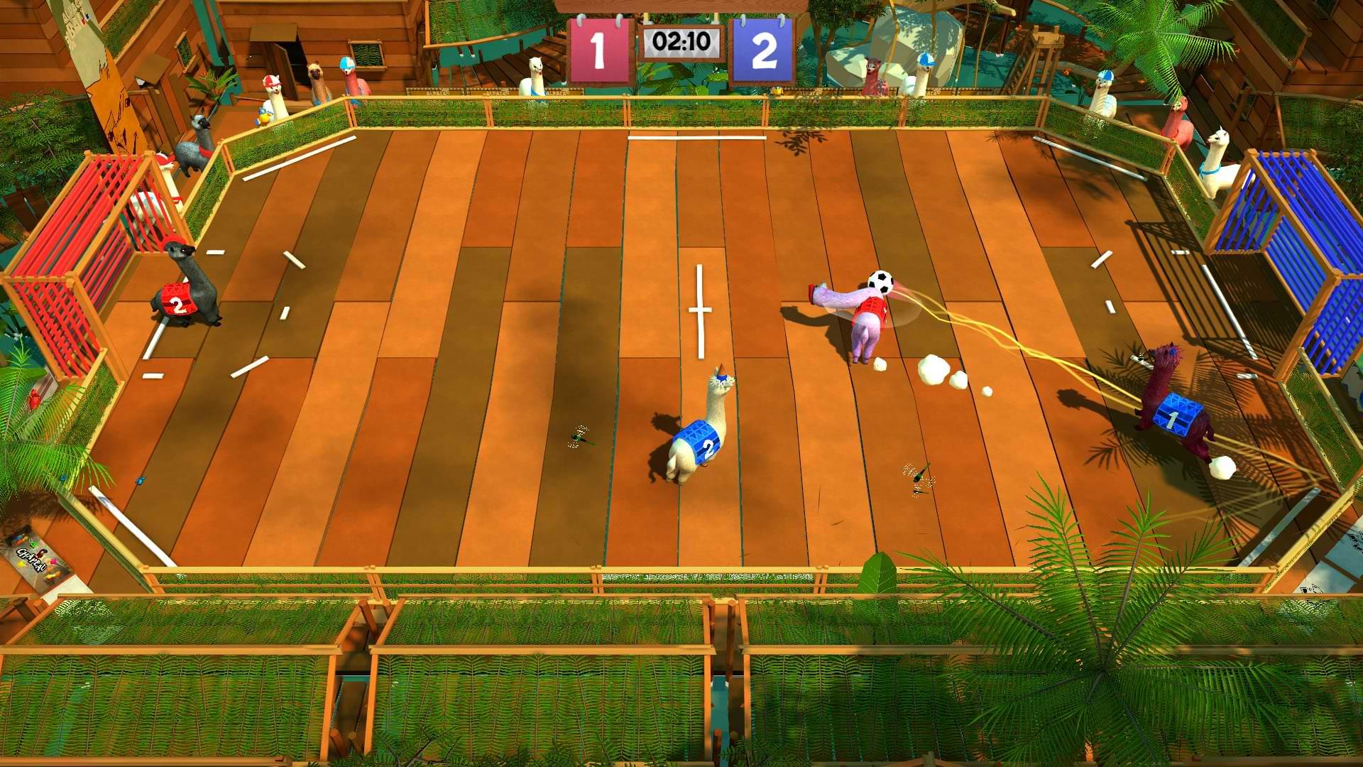 Alpaca Ball Allstars On Switch