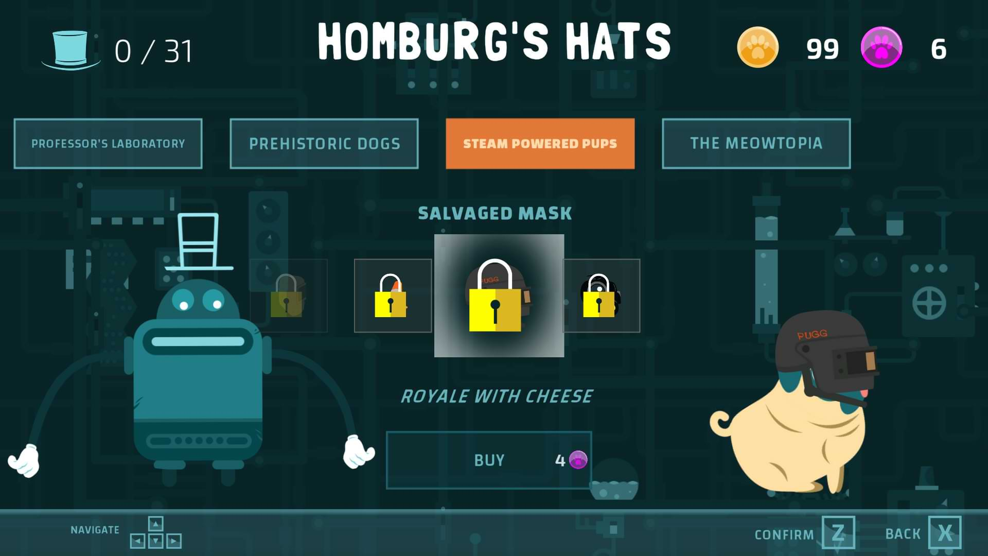 Double Pug Switch - Hats