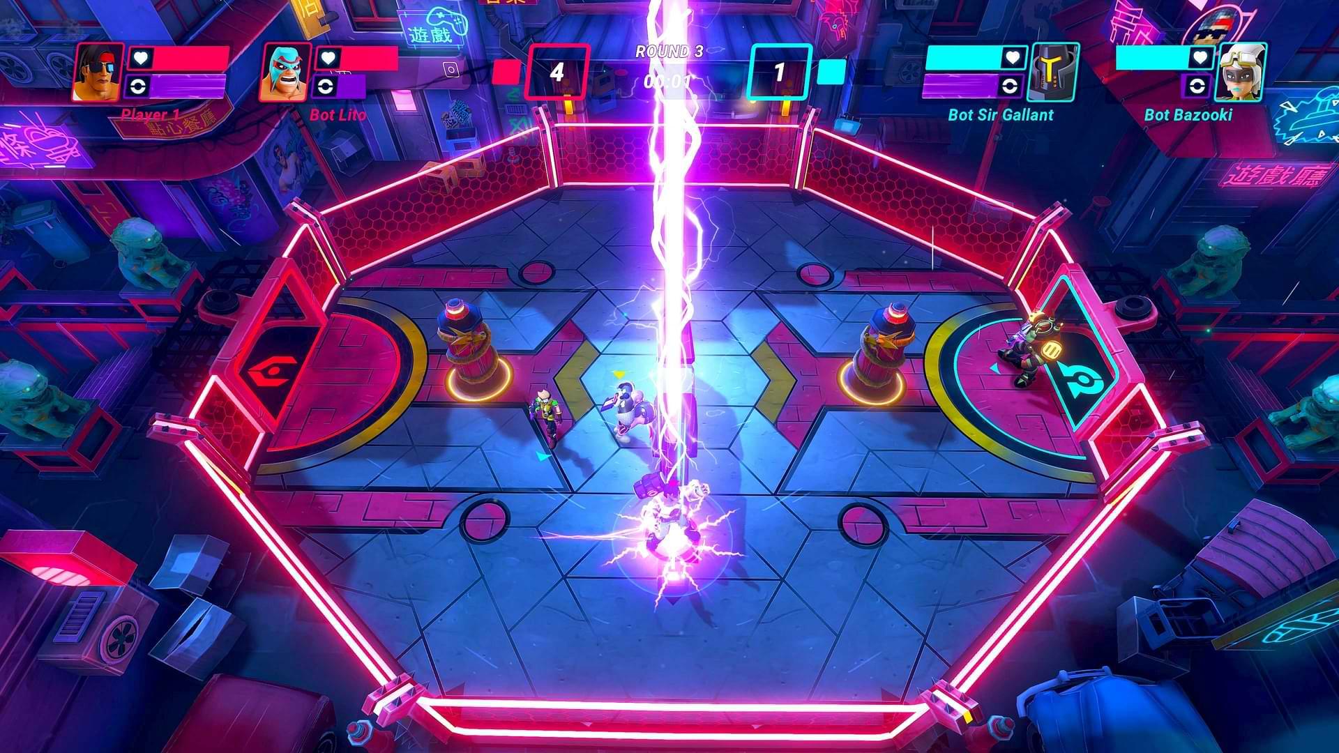Hyperbrawl Tournament - Strikes