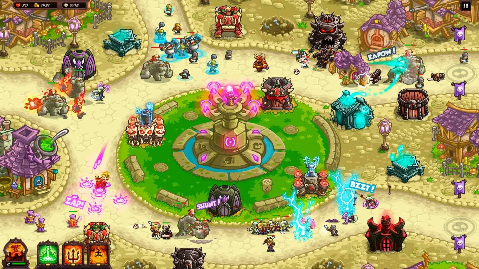 Kingdom Rush Vengence - Fountain