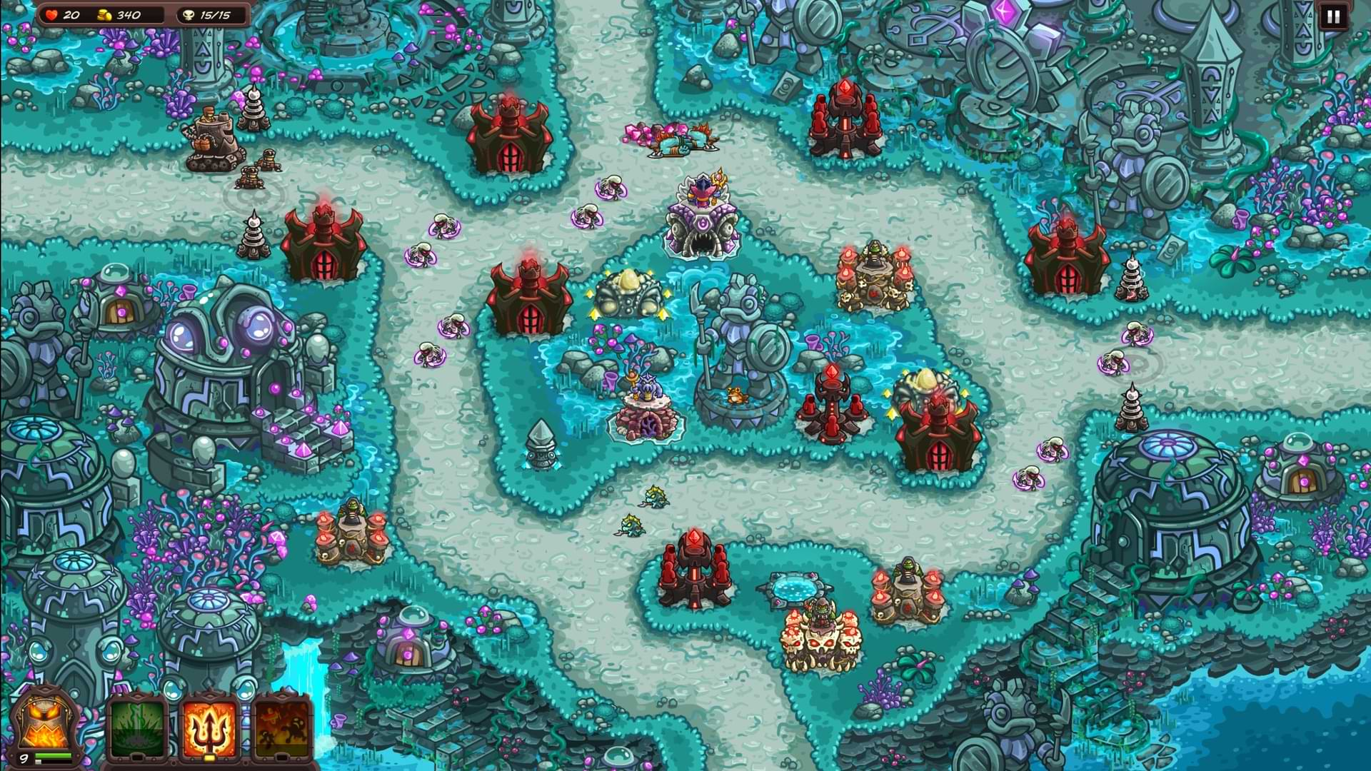 Kingdom Rush Vengence PC Review