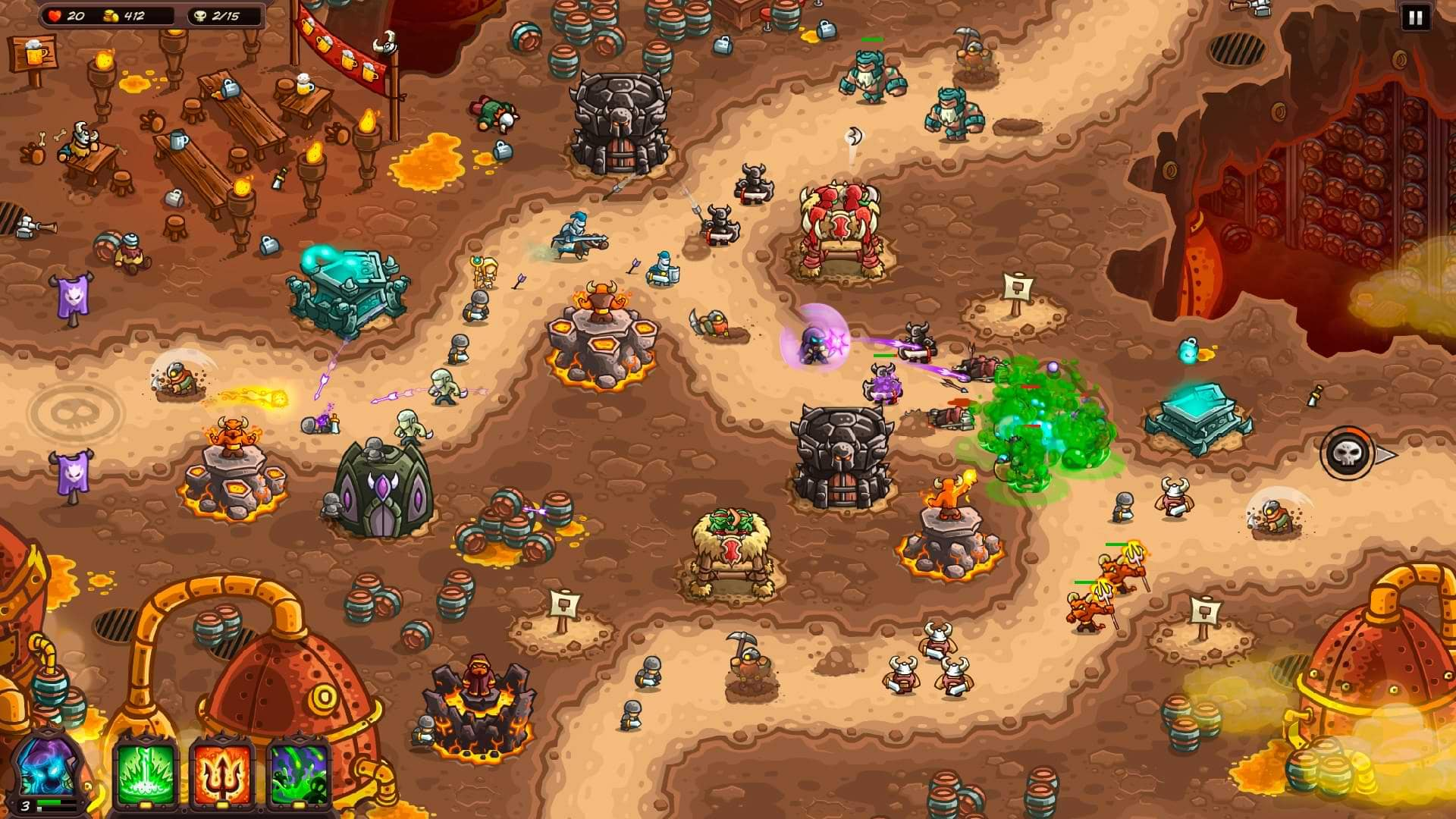 Kingdom Rush Vengence Preview