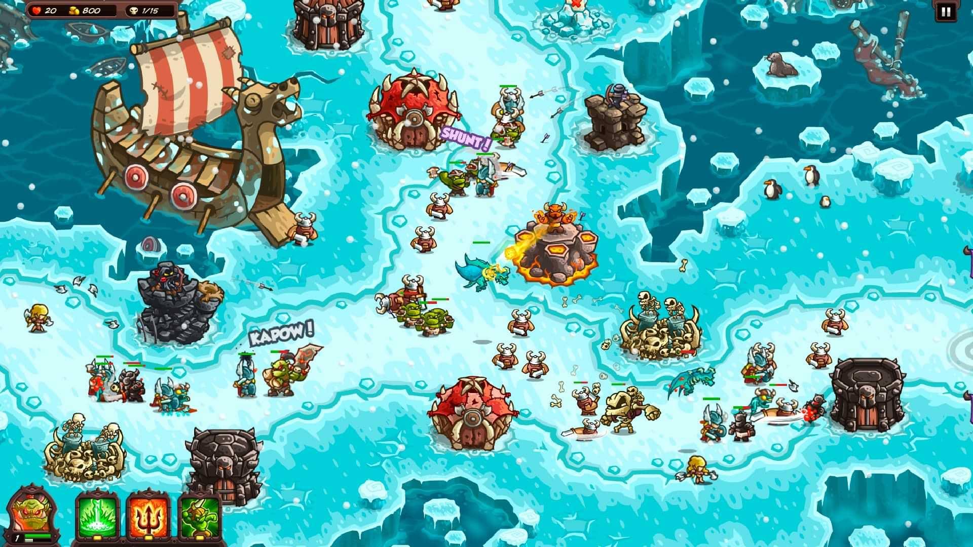 Kingdom Rush Vengence - Vikings!